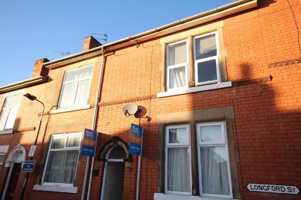 Terrace House Boundary Walls Derby Property Rental Blue i Properties